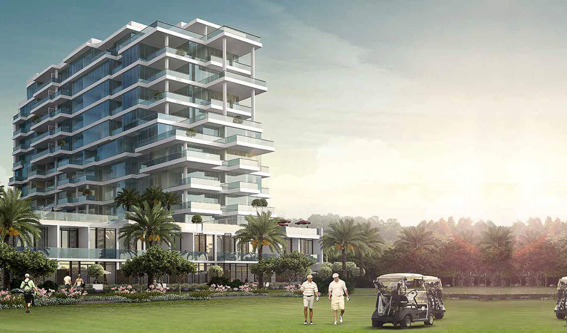Apartments for sale near golf course in Dubai - 2