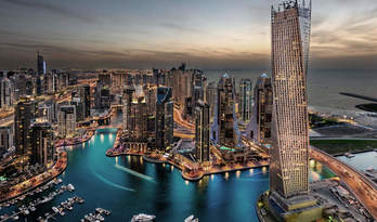 Penthouse for sale sa paninirahan Cayan Tower sa Dubai Marina