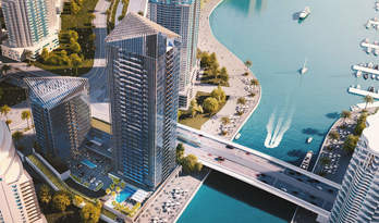 Apartments for sale in residential complex Sparkle Towers, Dubai Marina
