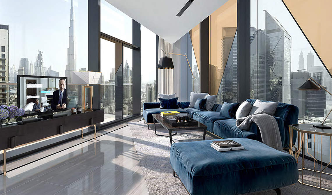For sale, Dubai, Downtown Dubai, residence «Marquise Square», apartments, rooms: 1–4 - 0