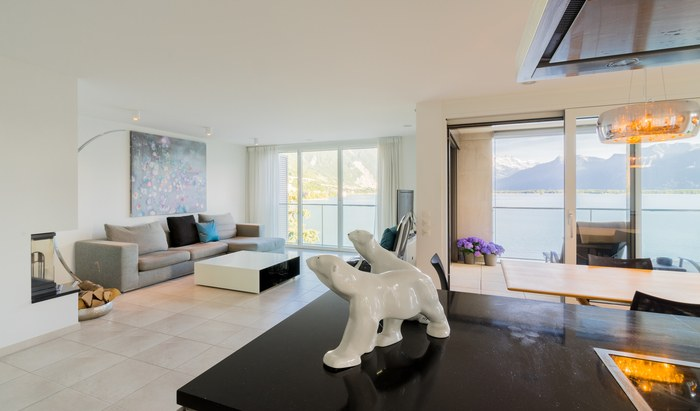 For sale, residence «Le National», Montreux, apartment, rooms: 3 - 1