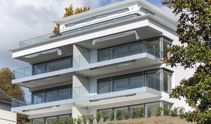 Clarens, apartments, rooms: 3–4, residence «Les Jardins du Lac», for sale - 2
