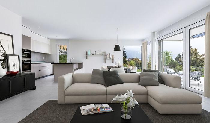 Clarens, apartments, rooms: 3–4, residence «Les Jardins du Lac», for sale - 0