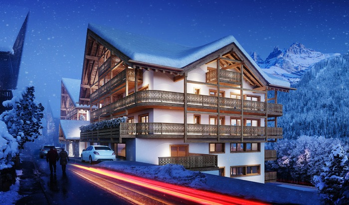 For sale, two-level apartment, rooms: 6, residence «Le Montagnier», Champéry - 3
