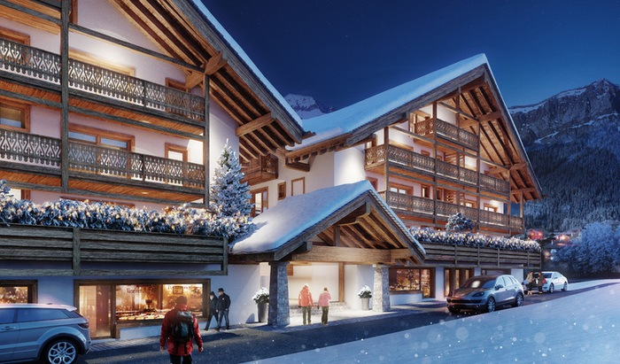 For sale, two-level apartment, rooms: 6, residence «Le Montagnier», Champéry - 0