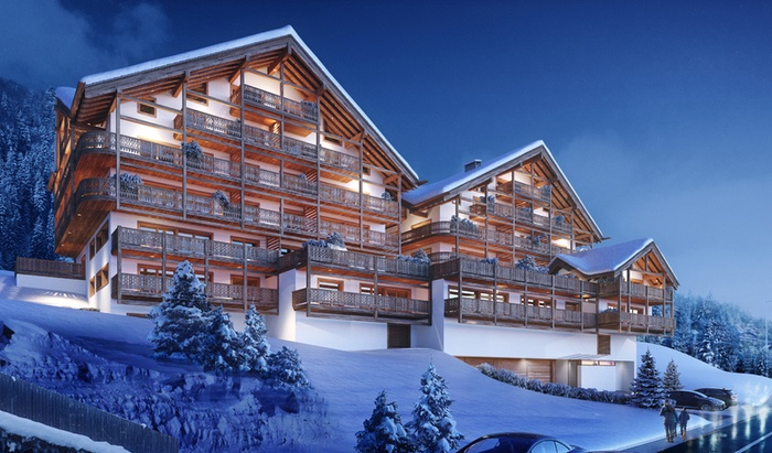 For sale, two-level apartment, rooms: 6, residence «Le Montagnier», Champéry - 4