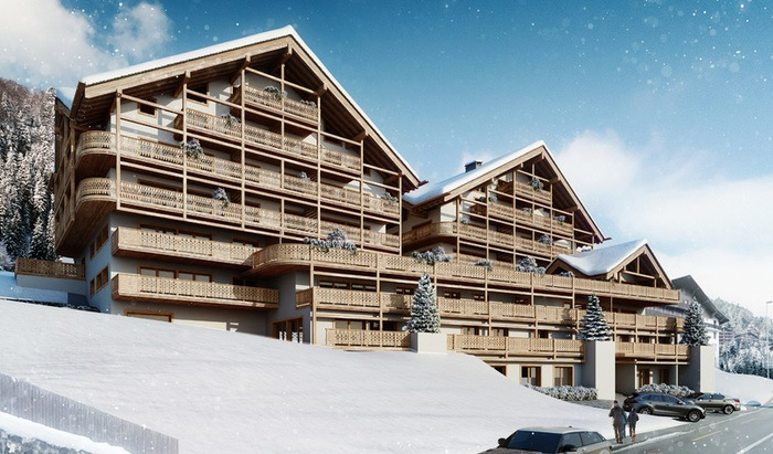 Residence «Le Montagnier», apartment, rooms: 4, for sale, Champéry - 2