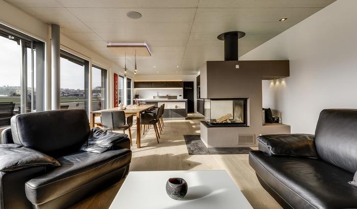 For sale, La Tour-de-Trême, penthouse, rooms: 4 - 0
