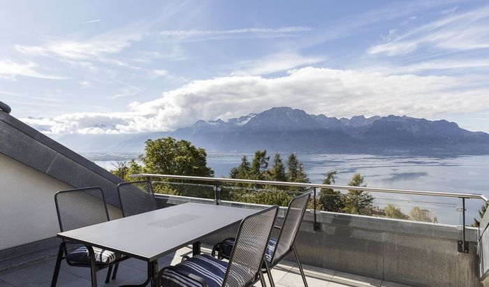 Two-level apartment, rooms: 4, Montreux, for sale - 0