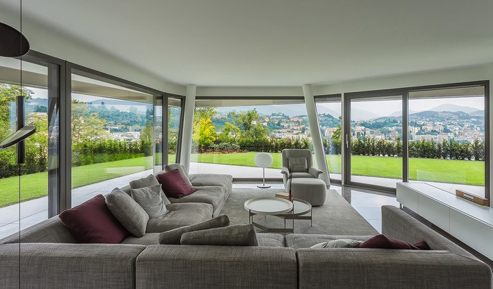 Apartments and penthouses for sale in a new residence in Paradiso, Lugano - 11