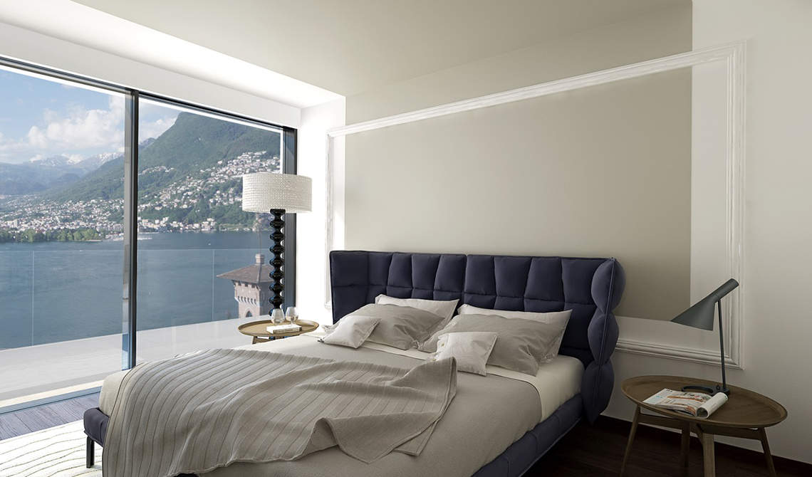 Apartments and penthouses for sale in a new residence in Paradiso, Lugano - 4