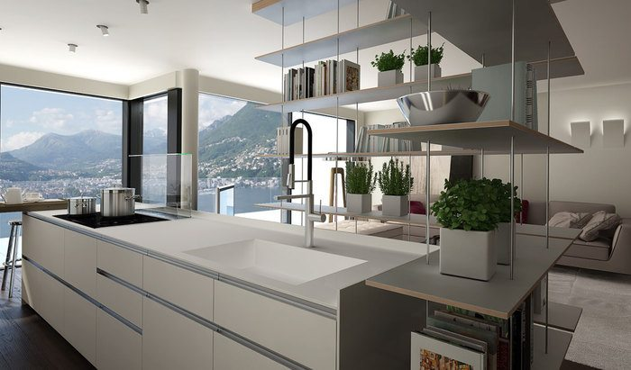 Apartments and penthouses for sale in a new residence in Paradiso, Lugano - 21