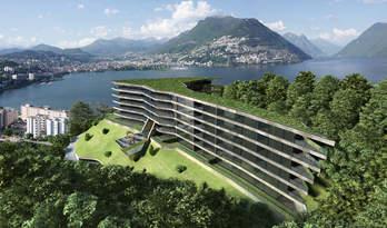 Apartemen dan penthouse dijual di tempat tinggal baru di Paradiso, Lugano
