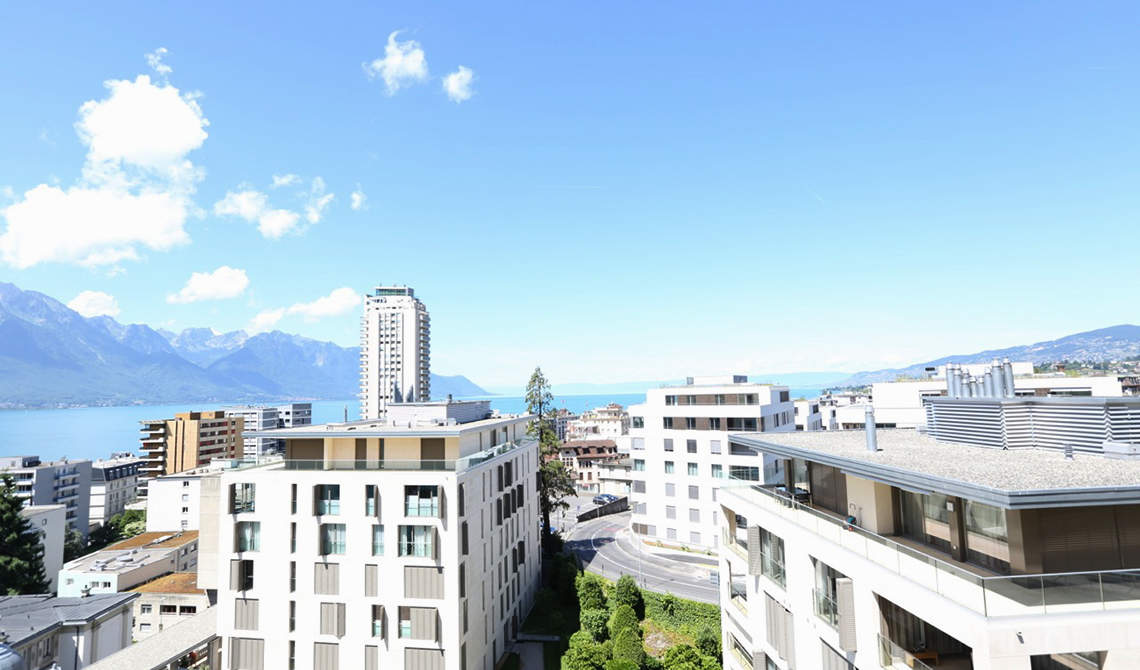 Loft for sale in center of Montreux overlooking Lake Geneva - 1