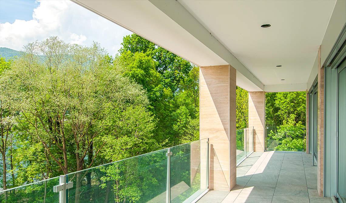 Apartments for sale in residence at lake in Lugano - 8