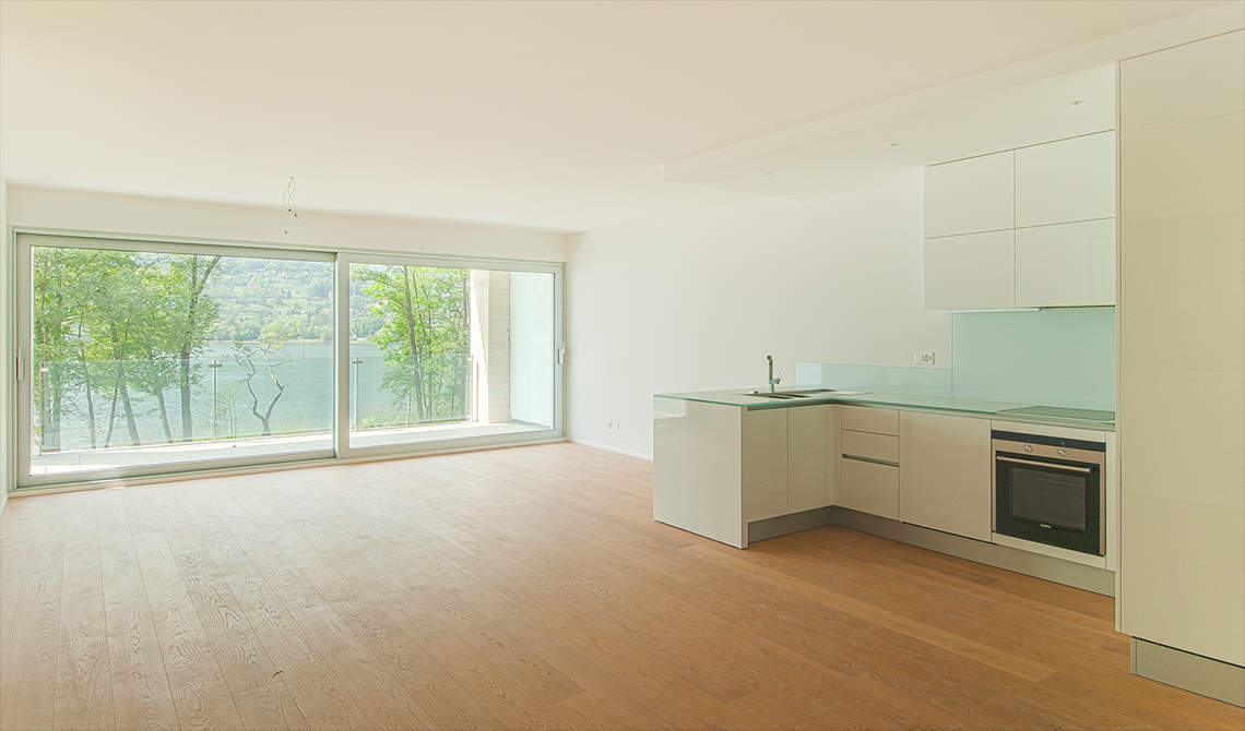 Apartments for sale in residence at lake in Lugano - 4