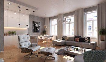 Прага, Прага 5, апартаменты, комнат: 2–4, продается