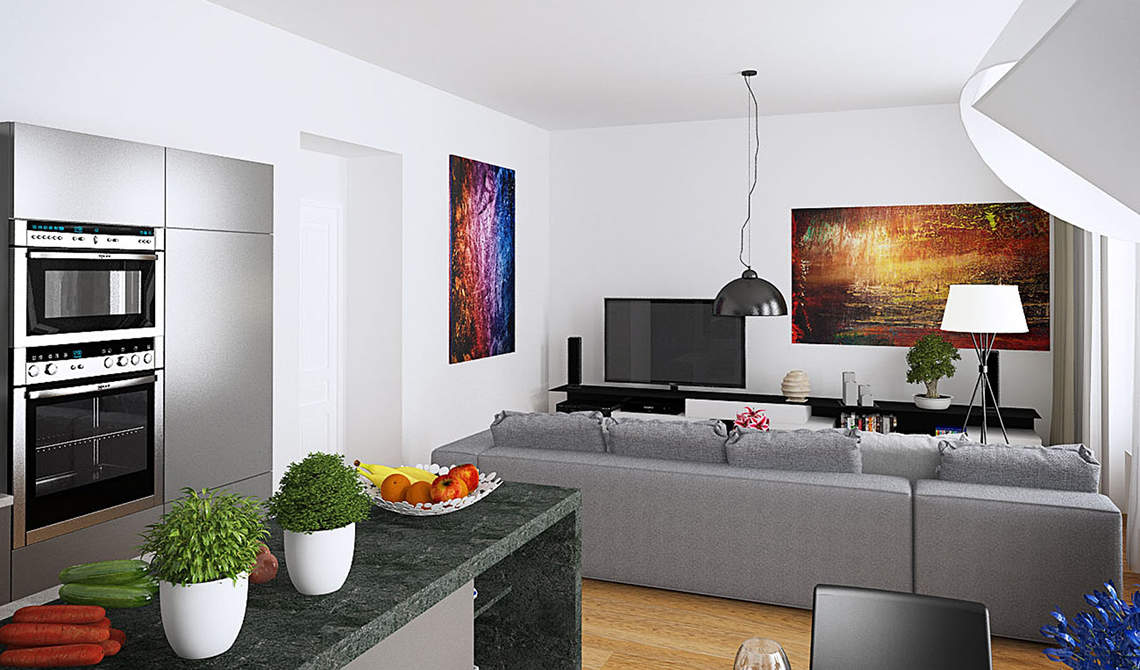 Apartments for sale in new residence in Prague 6, Břevnov - 6