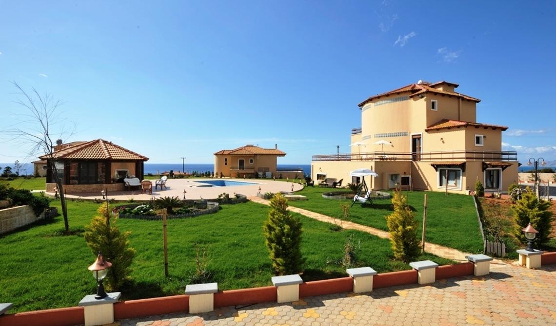Продажа вилл замков усадеб элитной недвижимости греция
