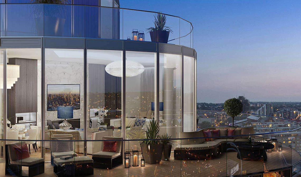 Apartments for sale in residential complex Battersea Reach, Wandsworth - 6