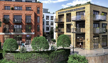 Apartments and houses for sale in residential complex Brewery Wharf, Richmond