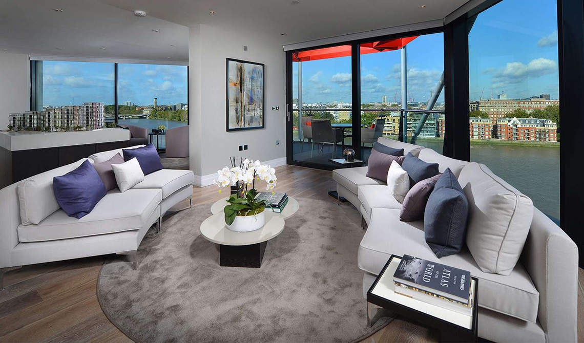 Apartment for sale in residential complex Riverlight, Wandsworth - 0