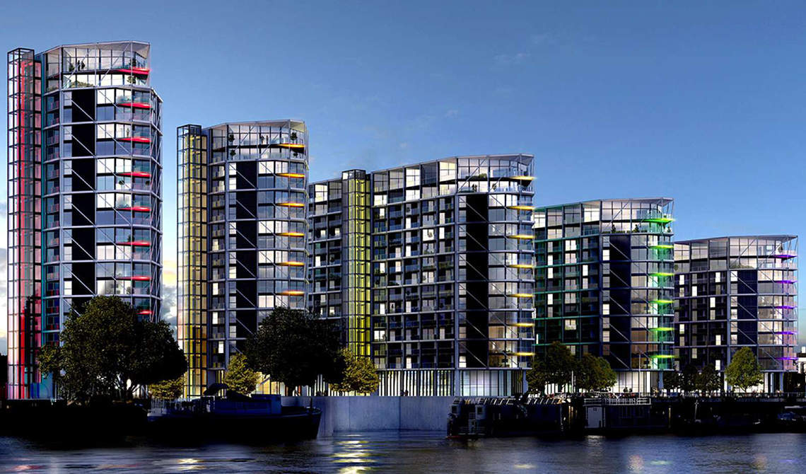 Apartment for sale in residential complex Riverlight, Wandsworth - 5