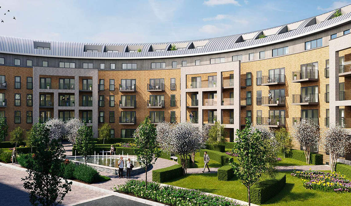 Apartments for sale in Stanmore Place project, Harrow - 0