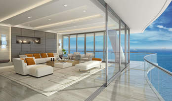 Apartments for sale in Fendi Chateau Residences near Miami Beach