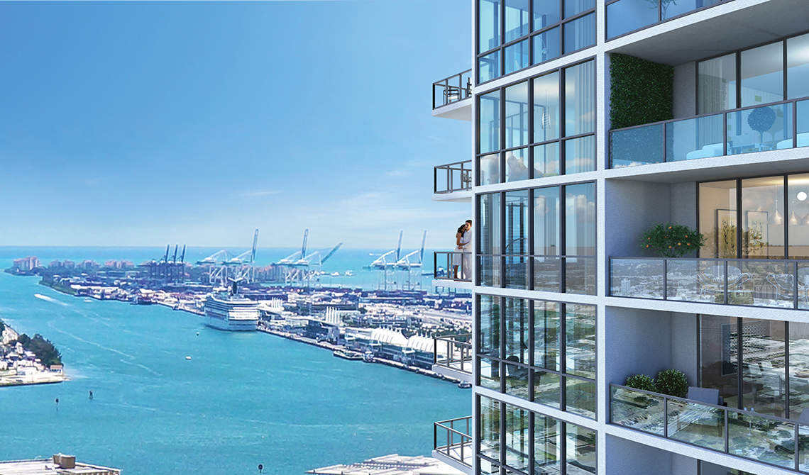 Apartments for sale in residence Canvas in Edgewater, Miami - 0